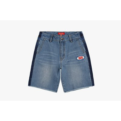 Ted graffiti denim shorts