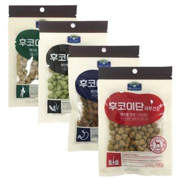 후코이단 강아지 건강 애견 간식 100g 4종