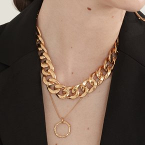 Chunky chain Necklace (Silver, Gold)
