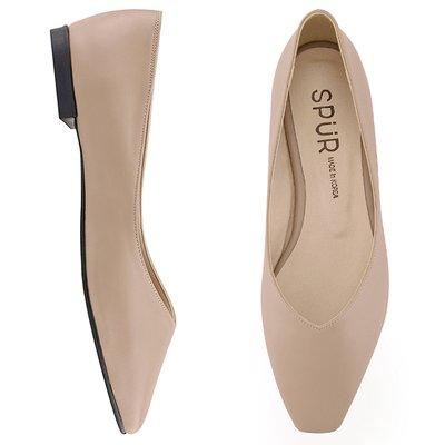 플랫 MS9038 Slim square flat 베이지