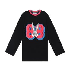 [FW19 Looney Tunes] 88 Bunny Long Sleeve(Black)