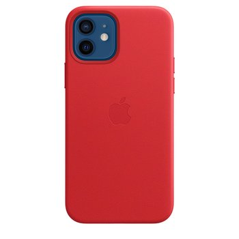 MagSafe형 iPhone 12, 12 Pro 가죽 케이스 - (PRODUCT)RED
