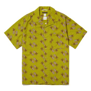 이스트하버서플러스 MIAMI CAMP SHIRTS (PINEAPPLE) GREEN