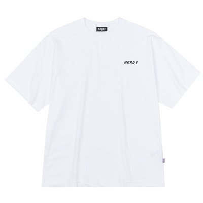 Small Logo 1/2 Sleeve T-shirt White