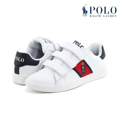 폴로(POLO) [JUNIOR] QUILTON BEAR EZ 스니커즈 RF100770LC-W