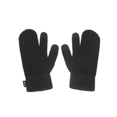 FENNEC KNIT TIMI GLOVES - BLACK