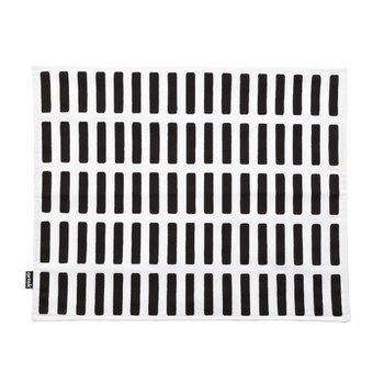 SIENA PLACE MAT White/Black