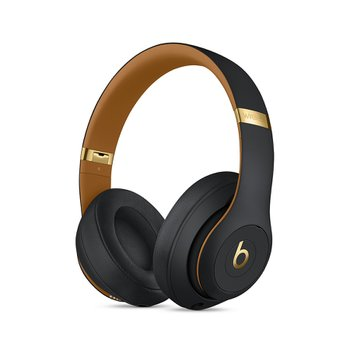Beats Studio3 Wireless 오버 이어 헤드폰 - Beats Skyline Collection - 미드나이트 블랙(MTQW2PA/A)