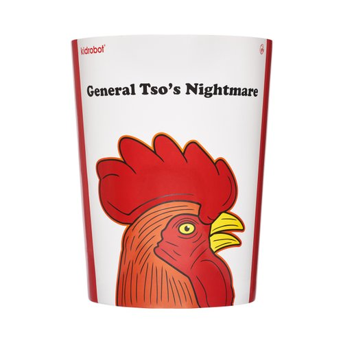 GENERAL TSO`S NIGHTMARE MEDIUM FIGURE BY FRANK KOZIK