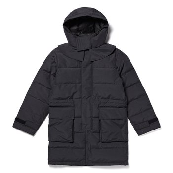 FR Down Coat BLACK