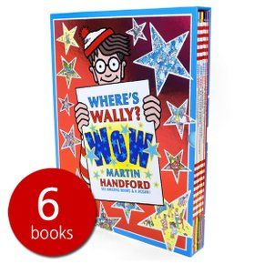 월리를 찾아라 Wheres Wally?: Wow Case 6 Books Set