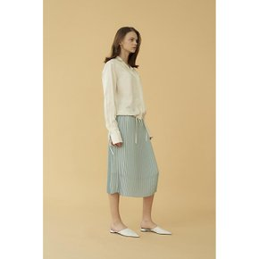 [블랭크공삼]pleats skirt_mint