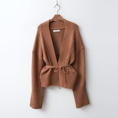 Wool Wrap Cardigan