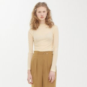 Rawcut Sheer T_Yellow