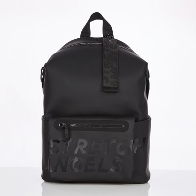 스트레치엔젤스[S.P.U] Pocket pouch backpack L (Black)