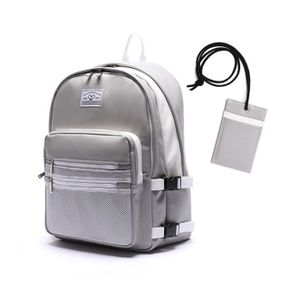 로디스 3D LEATHER BACKPACK GRAY