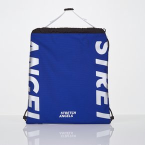 *season off*[L.P.Y] logo string easy backpack (Blue)