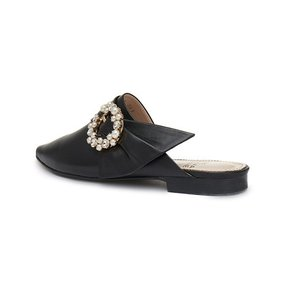 [시흥점] [시흥] Pearl buckle mule(black)_DG2CX19010BLK