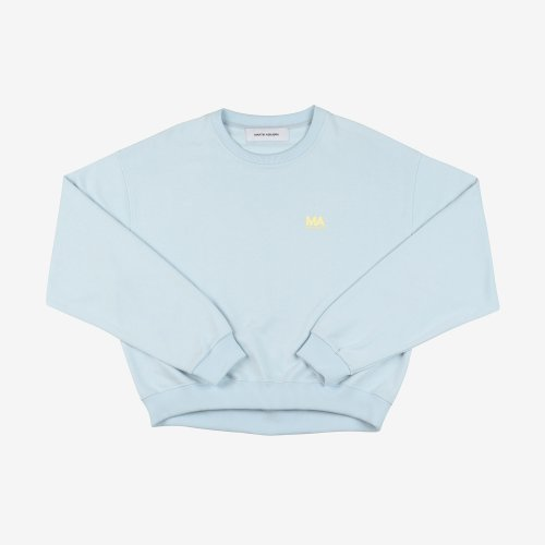 [PRE-ORDER] 20PS ANDREW CROPPED SWEAT BLUE