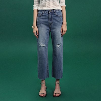 [DEANS] SCRATCH BOY FIT DENIM PANTS_DENIM