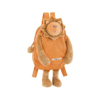 MoulinRoty Les zazous Lion BackPack 38cm