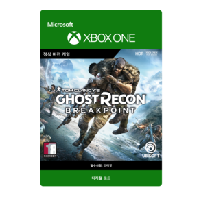XBOX  고스트 리콘 브레이크포인트/TOM CLANCYS GHOST RECON BREAKPOINT