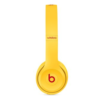 Beats Solo3 Wireless 헤드폰 - Beats Club Collection - 클럽 옐로(MV8U2PA/A)