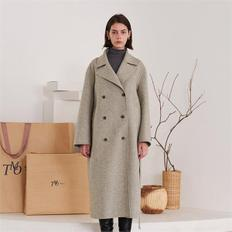 [써틴먼스] HANDMADE LONG WOOL COAT GRAY (3638110)