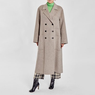 / luxe wool handmade coat