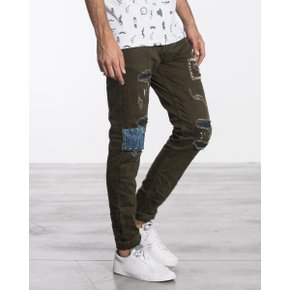 [지아니루포]Slim Fit Numerous Patch J2796 (Gn)