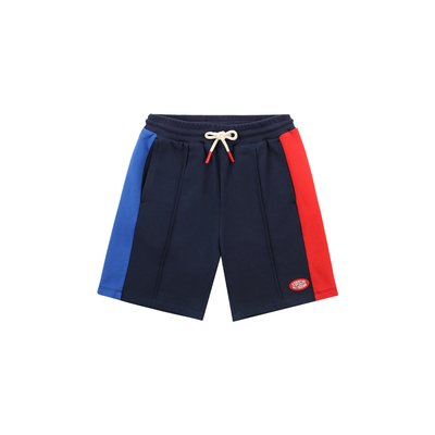 [20% SALE] Icebiscuit logo patch color block shorts