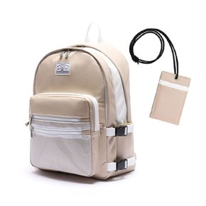 로디스 3D LEATHER BACKPACK BEIGE