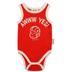 Ruddy baby sleeveless bodysuit / BP8216173
