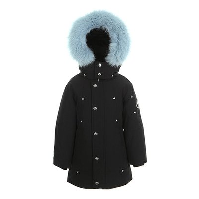 [MOOSEKNUCKLES] 키즈 컬러퍼 파카 Unisex Parka -color fur (18FMK8731UPMK690)
