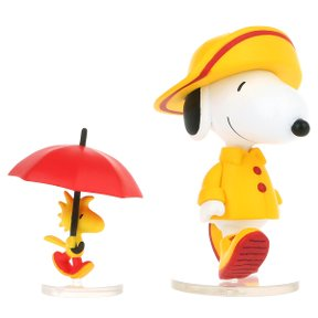 PEANUTS SERIES7 RAINCOAT SNOPY & WOODSTOCK