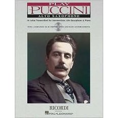 Play Puccini : 10 Arias Transcribed for Alto Saxophone and Piano (Paperback+CD)