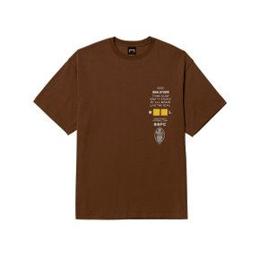 [골스튜디오] CLUB SSFC JERSEY SINGLE SHORT SLEEVE - BROWN