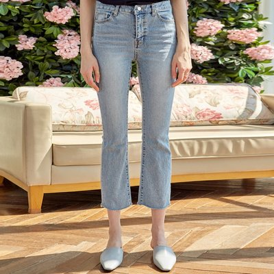 SLIM BOOTSCUT CROP JEAN_DENIM (2222671)