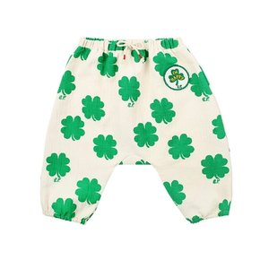 Multi clover baby baggy pants