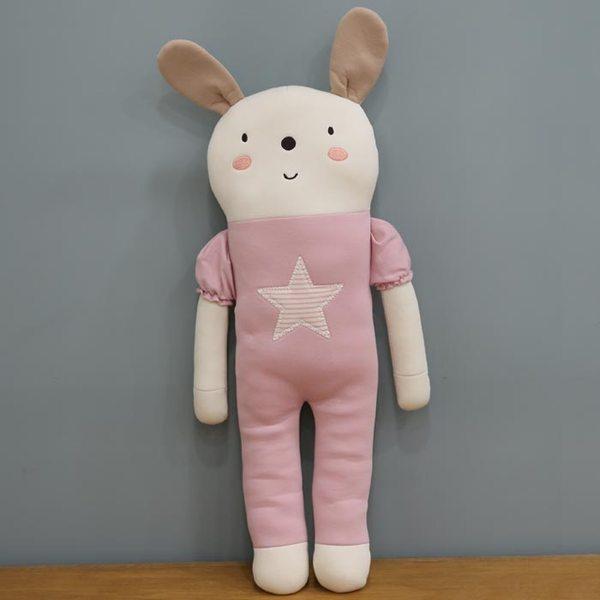 오가닉 애착인형 핑크토끼