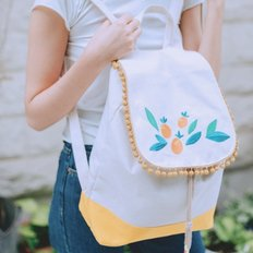 Tangerine backpack (yellow)