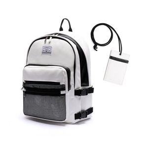 로디스 3D LEATHER BACKPACK WHITE