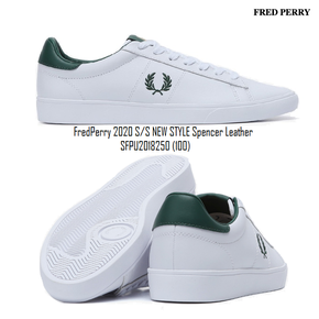 (PLATFORM) FredPerry 2020 S/S NEW STYLE  Spencer Leather SFPU2018250 (100)