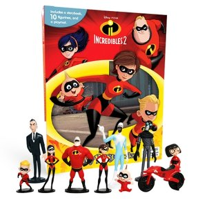 Disney The Incredibles 2 : My Busy Books 피규어북