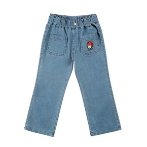 Ruddy flared denim ankle pants