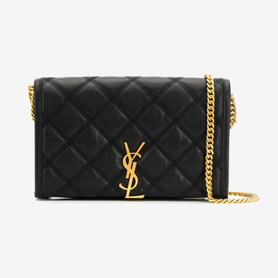 SAINT LAURENT 생로랑 베키 체인 백 VECKY CHAIN WALLET BLACK 5850311D319 1000
