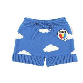 Multi cloud baby sweater pants