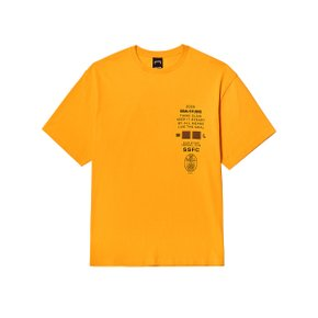 [골스튜디오] CLUB SSFC JERSEY SINGLE SHORT SLEEVE - YELLOW