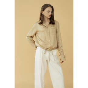 [블랭크공삼]string blouse_beige