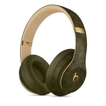 Beats Studio3 Wireless 헤드폰 - Beats Camo Collection - 포레스트 그린(MWUH2PA/A)